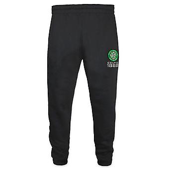 Celtic FC Official Football Gift Boys Slim Fit Fleece Joggers Jog Pants