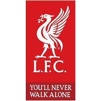 Liverpool L.F.C You'll Never Walk Alone Handduk Badlakan 140*70cm
