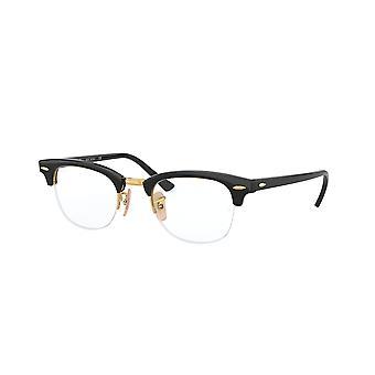 Ray-Ban Clubmaster Gaze RB4354V 2000 Shiny Black Glasses