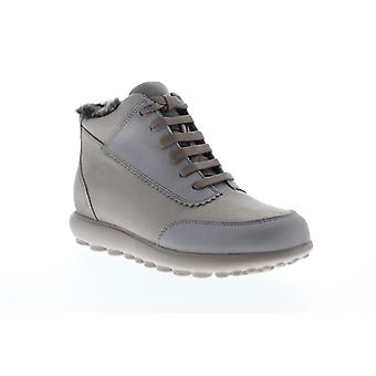 Camper Pelotas Step  Womens Gray Canvas High Top Sneakers Shoes