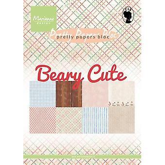 Marianne Design Bloc Eline's Beary cute PK9145 15x21 cm