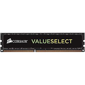 Corsair CMV8GX3M1C1600C11 Value Select 8 GB Mainstream Desktop Memory (1x8 GB), DDR3L, 1600 MHz, CL11, Schwarz
