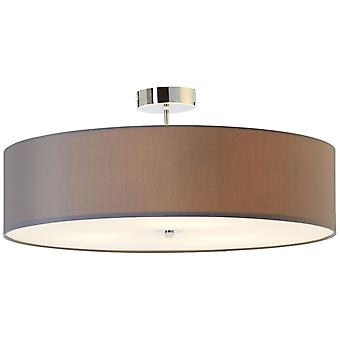 BRILLIANT Lamp Andria Ceiling Lamp 60cm Grey | 3x A60, E27, 60W, suitable for normal lamps (not included) | Scale A++ to E | Suitable for LED bulbs