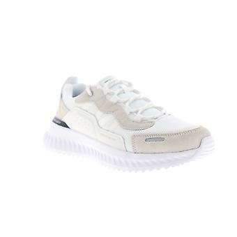 Skechers Matera 2.0  Ximino  Mens White Mesh Low Top Sneakers Shoes