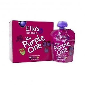 Ellas Kitchen - Smthie Frt - Purple One mltpck 5 x 90g