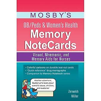 OB/SAP de Mosby; Santé mémoire Notecards féminin