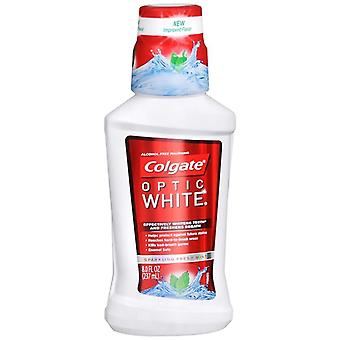Colgate optic white mouthwash, mint, 8 oz