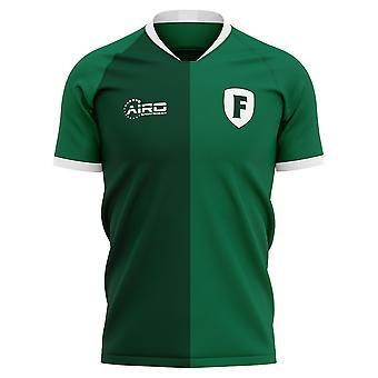 2020-2021 Feyenoord Fjerde Koncept Fodbold Shirt