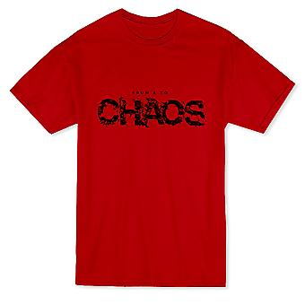 From And To Chaos Graphic Men's T-paita