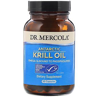 Krill Olie (60 Capsules) - Dr. Mercola
