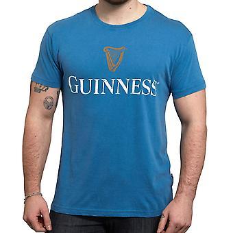 חולצת גינס לוגו כחול טריקו