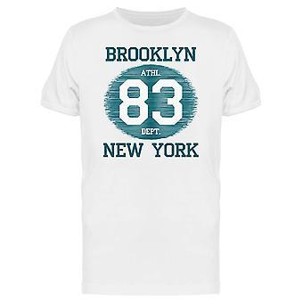 Brooklyn Athl Dept New York Tee mænds-billede af Shutterstock