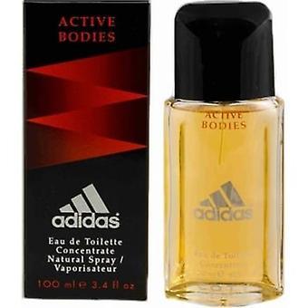 Adidas - Active Bodies Concentrate - Eau De Toilette - 100ML