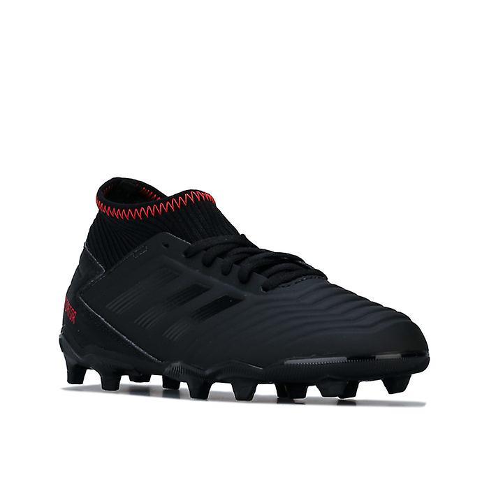 Boy-apos;s Adidas Junior Predator 19.3 Fg Football Boots En Noir