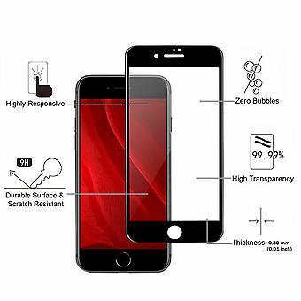 2 Pack Iphone 7/8 - Schermbeveiliging met gehard glas