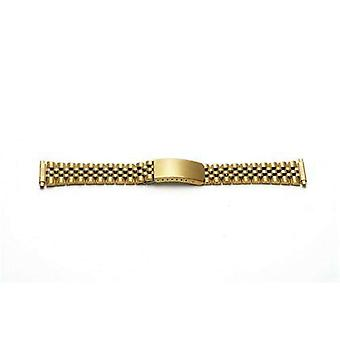 Watch bracelet gold plated 10mm-22mm