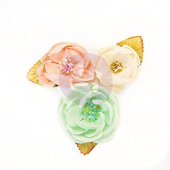 Prima Marketing Santa Baby Flowers Cotton Candy Christmas