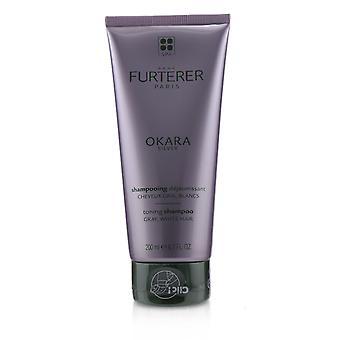 Okara zilver zilveren uitstraling rituele toning shampoo (grijs, wit haar) 240689 200ml/6.7oz