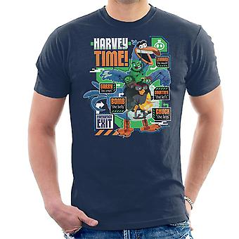 Angry Birds Harvey Time Men-apos;s T-Shirt
