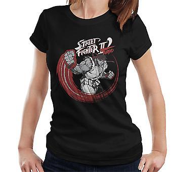 Street Fighter II Turbo Ryu Sketch Women's T-Shirt
