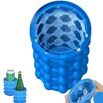 Ice Storage Silicone Bucket - Fast Cold Ice Maker