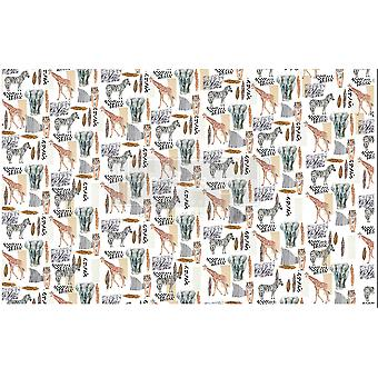 Re-Design with Prima Safari 19x30 Inch Découpage Décor Tissue Paper
