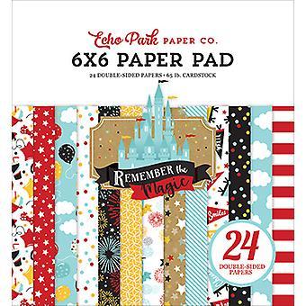 Echo Park Muista Magic 6x6 Tuuman paperityyny