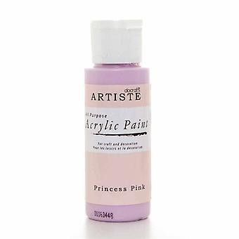 Docrafts Acrylique Paint (2oz) - Princess Pink (DOO 763226)