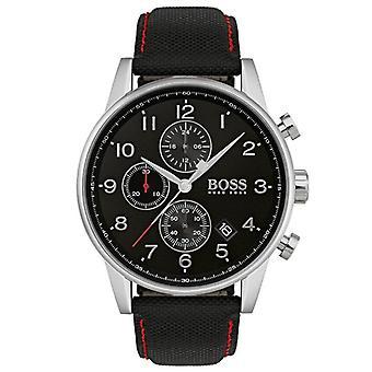 Hugo Boss 1513535 Black Leather Men's Watch