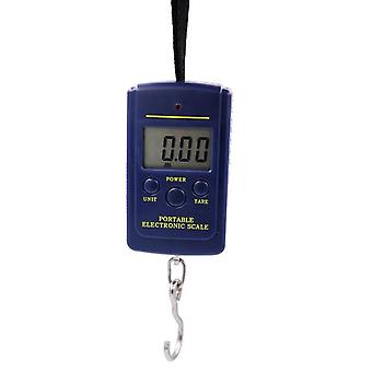 Portable Mini Electronic Digital Scale - Hanging Fishing Pocket Weight Balance Steelyard