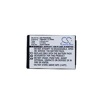 Batterie pour Parrot 1ICP7/28/35 Zik 2.0 Zik 3.0 ZIK2 3 MH46671 PF056015 PF056026