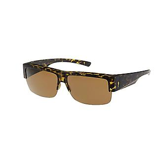 Sunglasses Women's Brown with Brown Lens VZ0025B