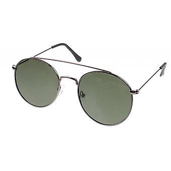 Sonnenbrille Herren   Icons Herren  Kat.3 silber/grün (AZ-1120)