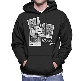 Sooty Retro 1950's Foto Montage Men's Hooded Sweatshirt