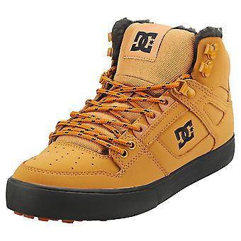 DC Shoes Pure High-top Wc Mens Casual Trainers in Wheat