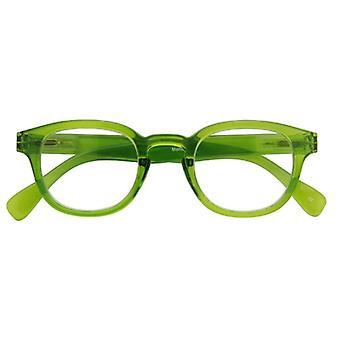 Leesbril Unisex Montel groene dikte +1,00