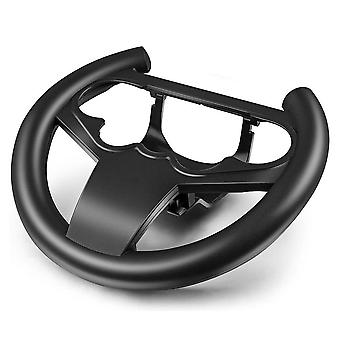 Ps4 ohjain haltija ajo auto peli ajopyörä (musta)