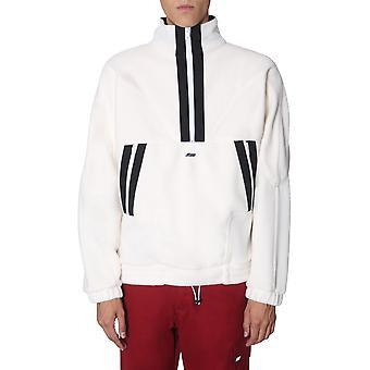 Msgm 2740mm04x19550302 Mænd's Hvid Polyester Sweatshirt