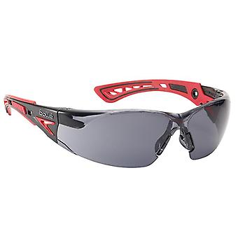 Bolle Safety RUSH+ Platinum Safety Glasses - Smoke BOLRUSHPPSF