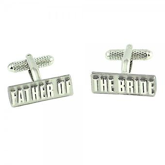 Ties Planet Father Of The Bride Rectangle Wedding Cufflinks