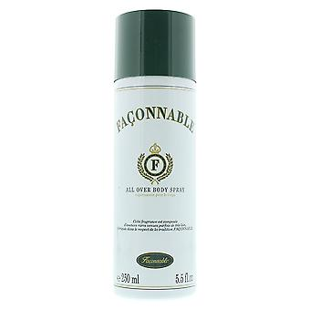 Faconnable All Over Body Spray 250ml For Him