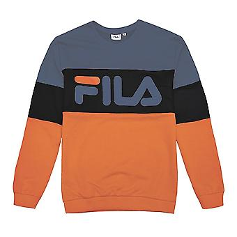 Fila Straight Blocked Crew 681255A817 universal all year men sweatshirts