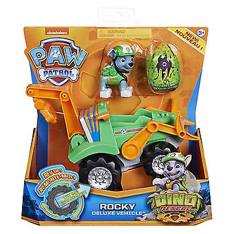 Paw Patrol Rocky Dino Rescue Deluxe Vehicle