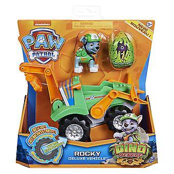 Paw Patrol Rocky Dino Rescue Deluxe Fahrzeug