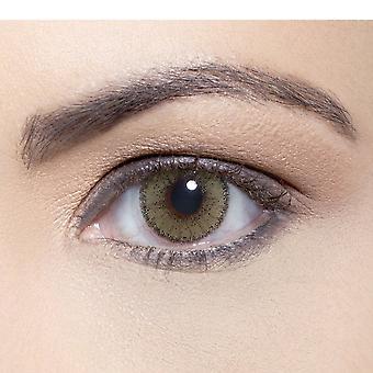 Solotica Natural - Coloured Contact Lenses - Mel (00.00d) (1 Year)
