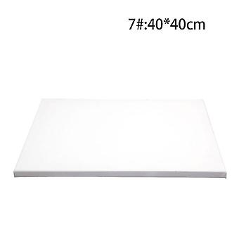 White Blank Square Artist Canvas Wooden Board Frame For Primed Oil Acrylic
