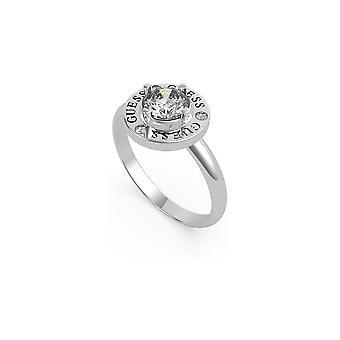 נחש תכשיטים סביבך רודיום קריסטל Prong מעגל טבעת UBR20046-54