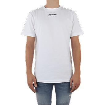 OFF WHITE Marker S/S Slim Tee White OMAA027E20JER005145 Top