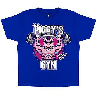 Piggy Gym Girls T-Shirt | Official Merchandise