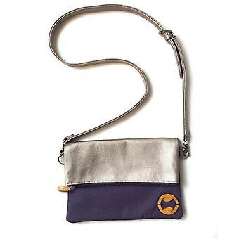 Clutch Crossbody taske med aftagelig skulderrem